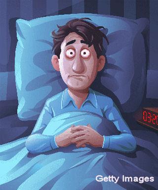 Sleepless Young Man